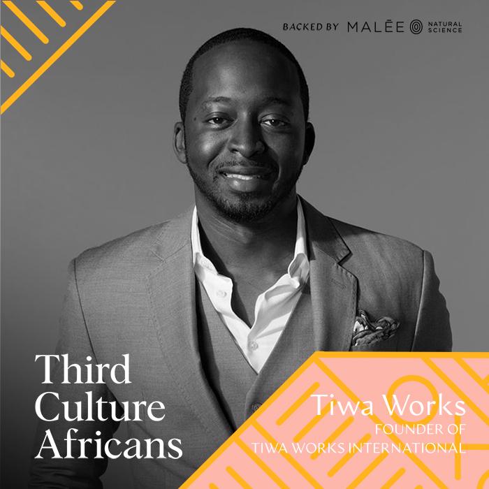 Tiwa Works is an entrepreneur, real estate agent, and motivator, he founded Tiwaworks International, which annually hosts the United States' largest black Greek letter event, the Atlanta Greek Picnic